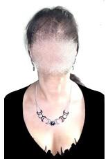 Dreifacher Dreifachmond, Halskette