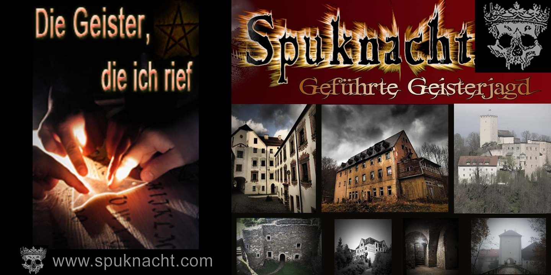 Spuknacht - Geführte Geisterjagd