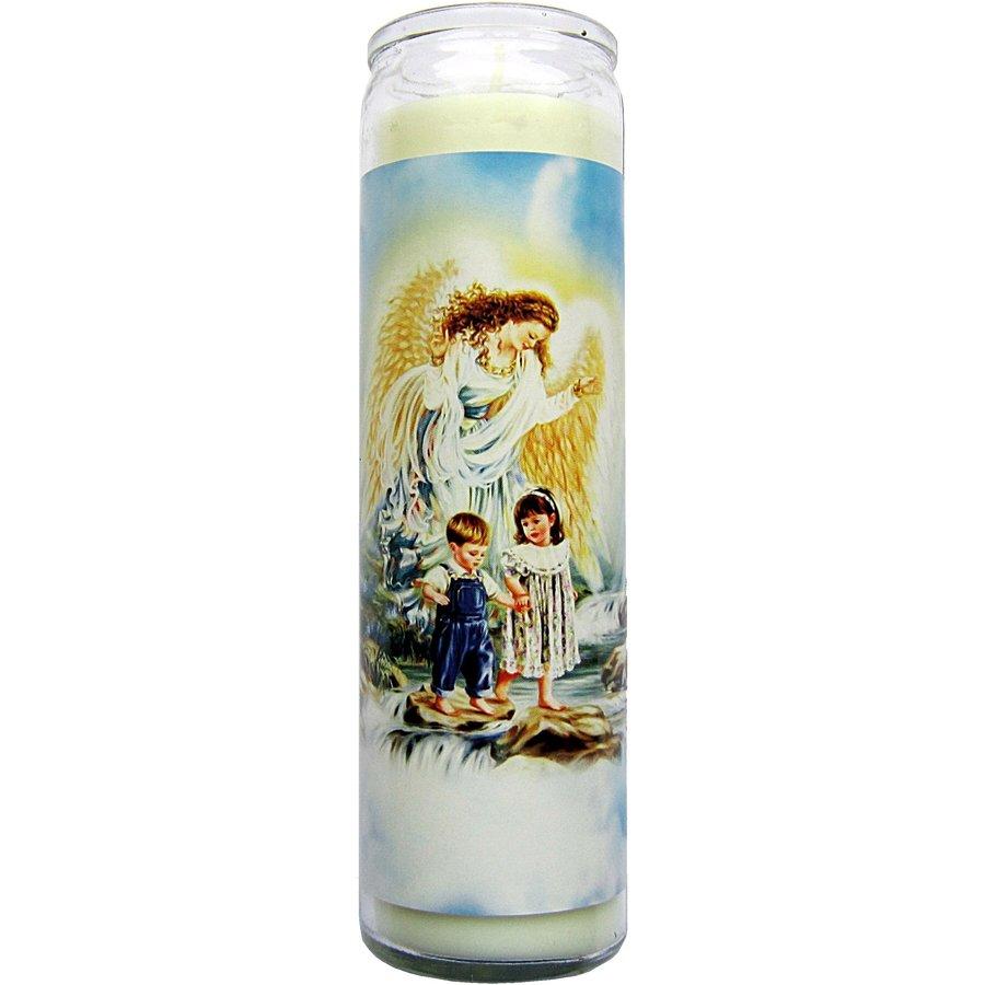 Kerze im Glas Schutzengel-3