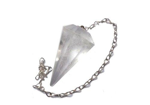 Bergkristall Pendel ab