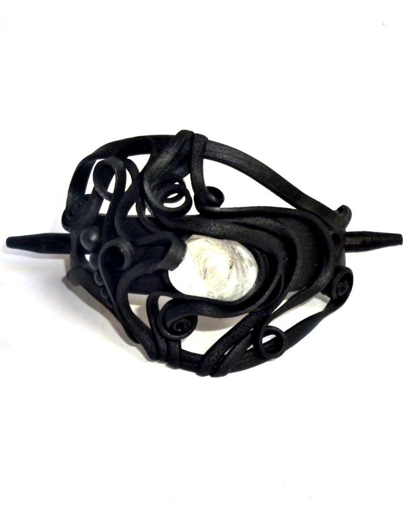 Haarclips mit Halbedelsteinen