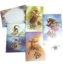 Briar Element Amulette mit Grußkarte
