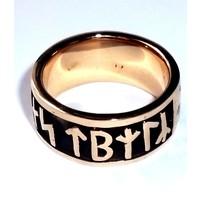 thumb-Runenring  aus Bronze oder aus 925 Sterling Silber-4