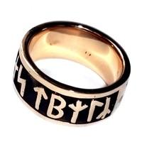 thumb-Runenring  aus Bronze oder aus 925 Sterling Silber-6