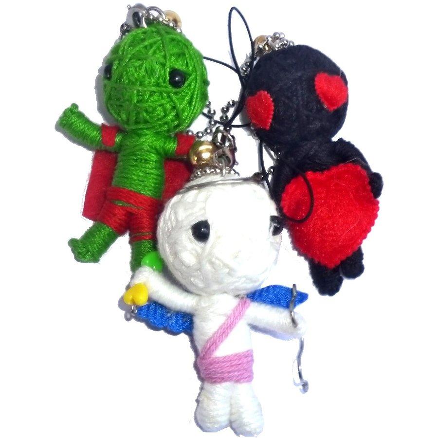 Puppen für magische Zwecke, Voodoo Dolls-2