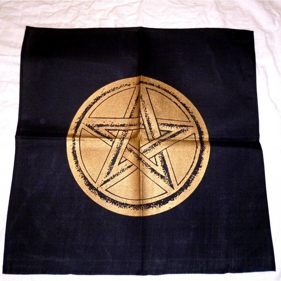 Altartuch mit Pentagramm in verschiedenen Farben-2