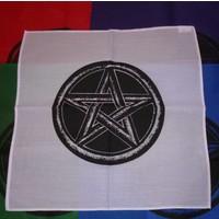 thumb-Altartuch mit Pentagramm in verschiedenen Farben-3