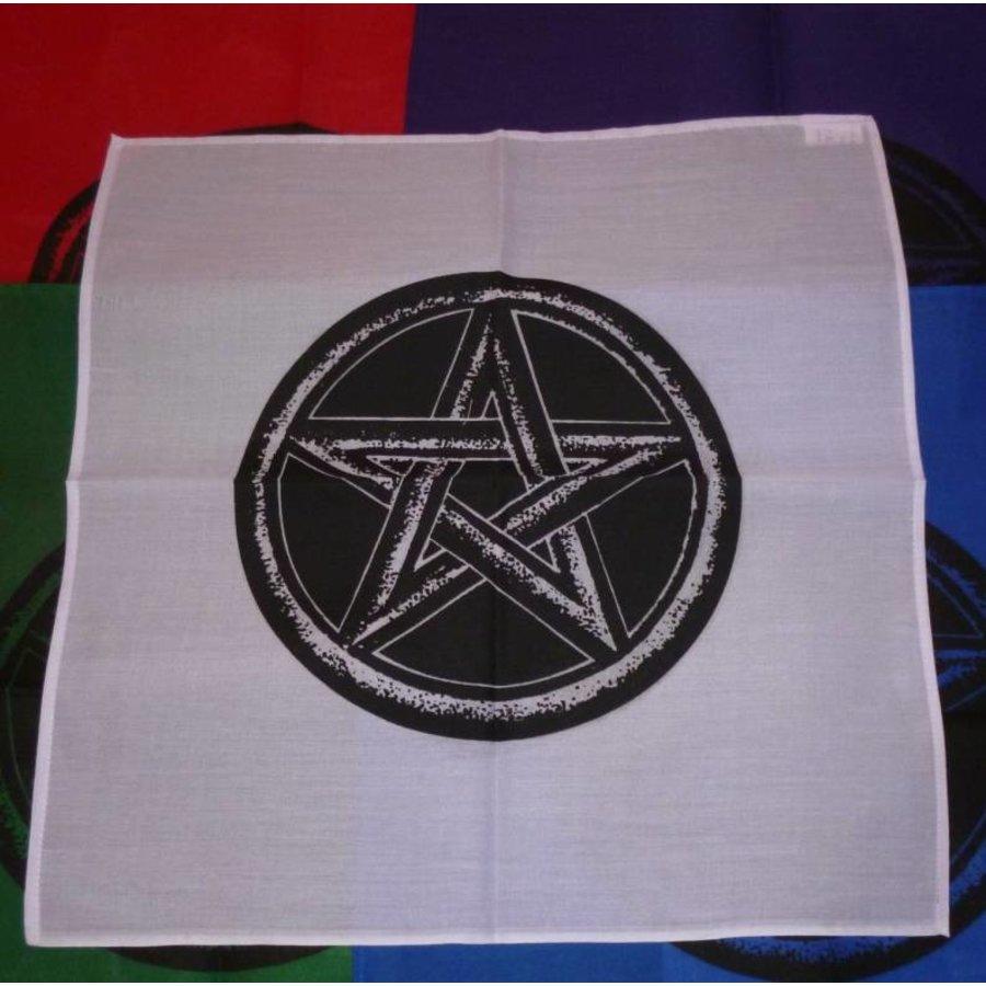 Altartuch mit Pentagramm in verschiedenen Farben-3