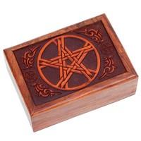 thumb-Tarot Box aus Holz-2