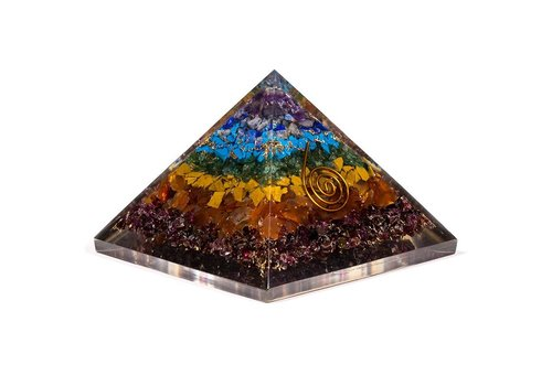 Orgonitpyramide 7 Chakren
