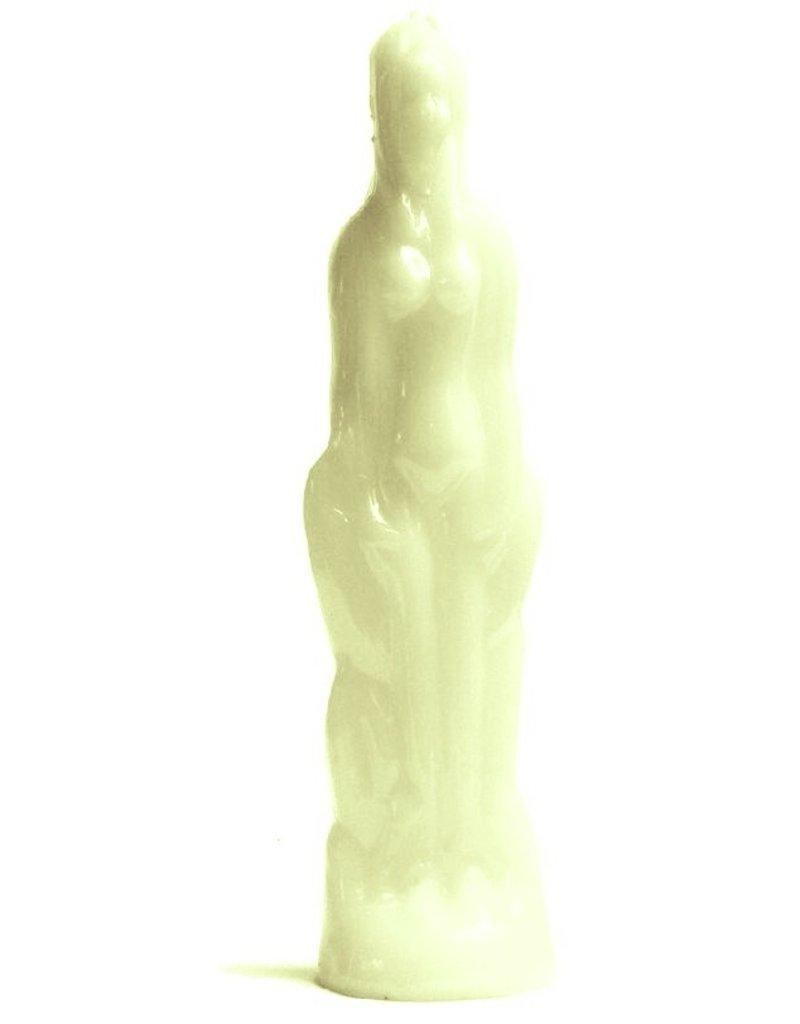 Kerzen Figuren  Frau  aus Rapswachs