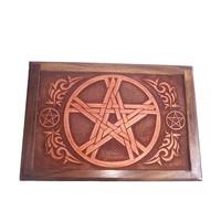 thumb-Tarot Box aus Holz-1