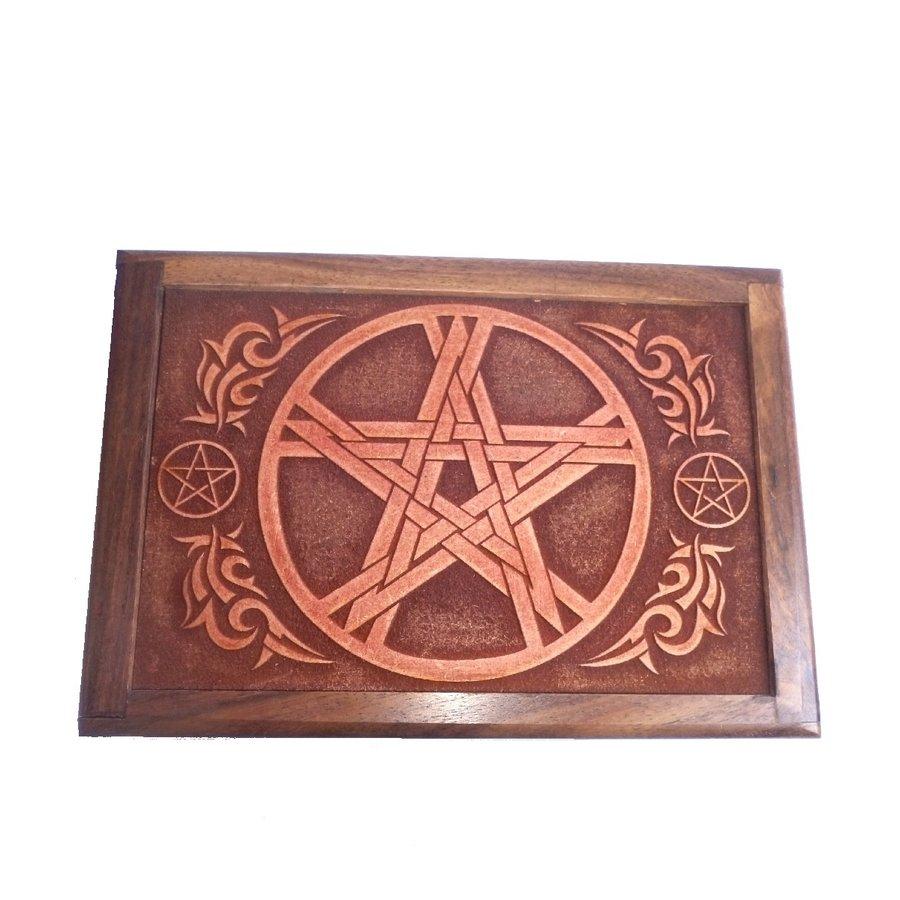 Tarot Box aus Holz-1