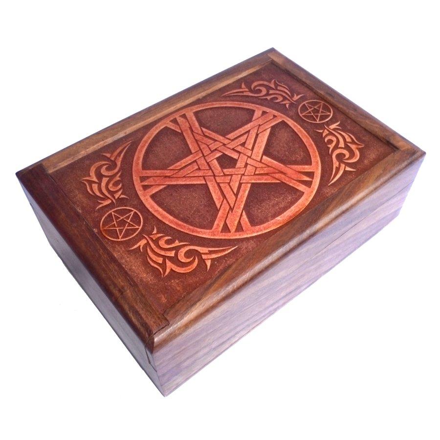 Tarot Box aus Holz-3