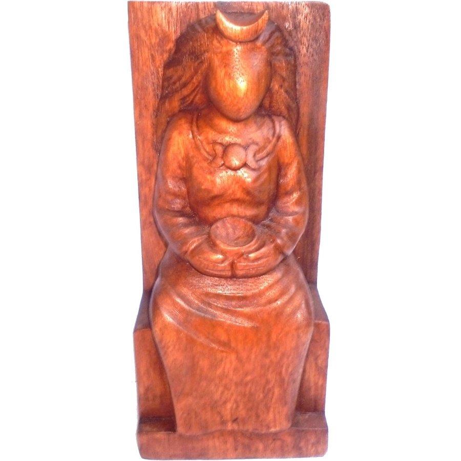 Hexengöttin aus Holz-1