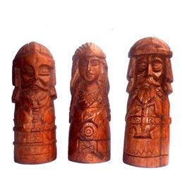 Germanische Götter Statuen