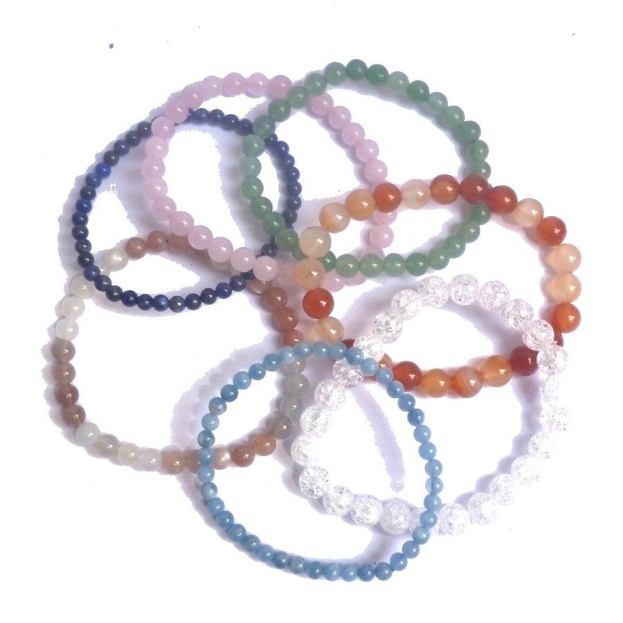 Armbänder aus Edelsteinperlen-2