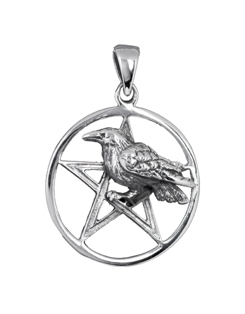 Pentagramm Anhänger aus Bronze oder 925 Sterling Silber