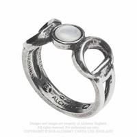 thumb-Dreifacher Mond Zinn Ring-2