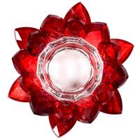 thumb-Kristall Teelichthalter / Kerzenhalter-1