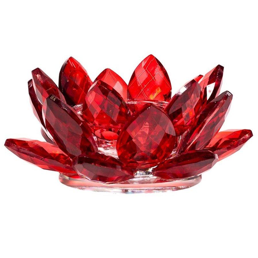 Kristall Teelichthalter / Kerzenhalter-3
