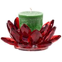 thumb-Kristall Teelichthalter / Kerzenhalter-4