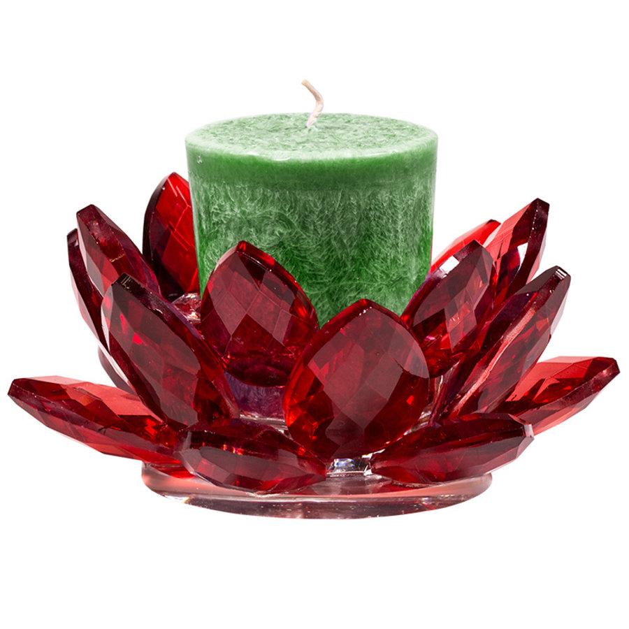 Kristall Teelichthalter / Kerzenhalter-4
