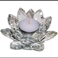 thumb-Kristall Teelichthalter / Kerzenhalter-7