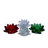 thumb-Kristall Teelichthalter / Kerzenhalter-2