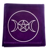 thumb-Tarot Decke Dreifacher Mond mit Pentagramm-3