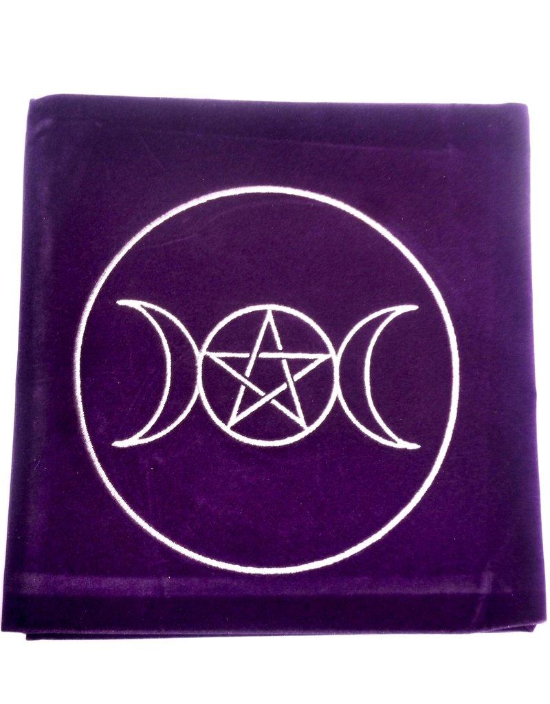 Mond Tarot Decke Dreifacher Mond mit Pentagramm