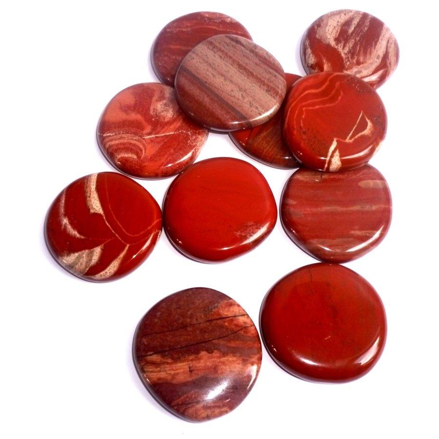 Edelstein Jaspis rot-1