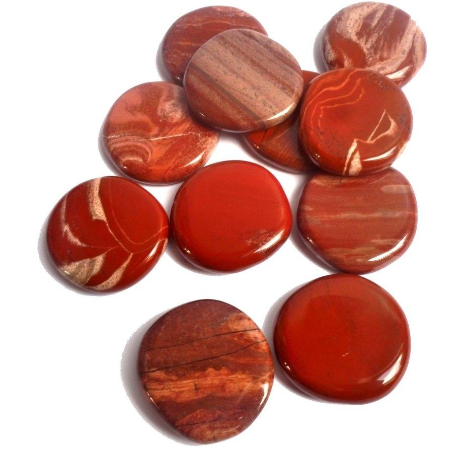 Edelstein Jaspis rot-4