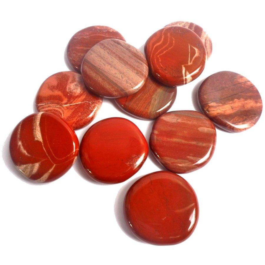 Edelstein Jaspis rot-5