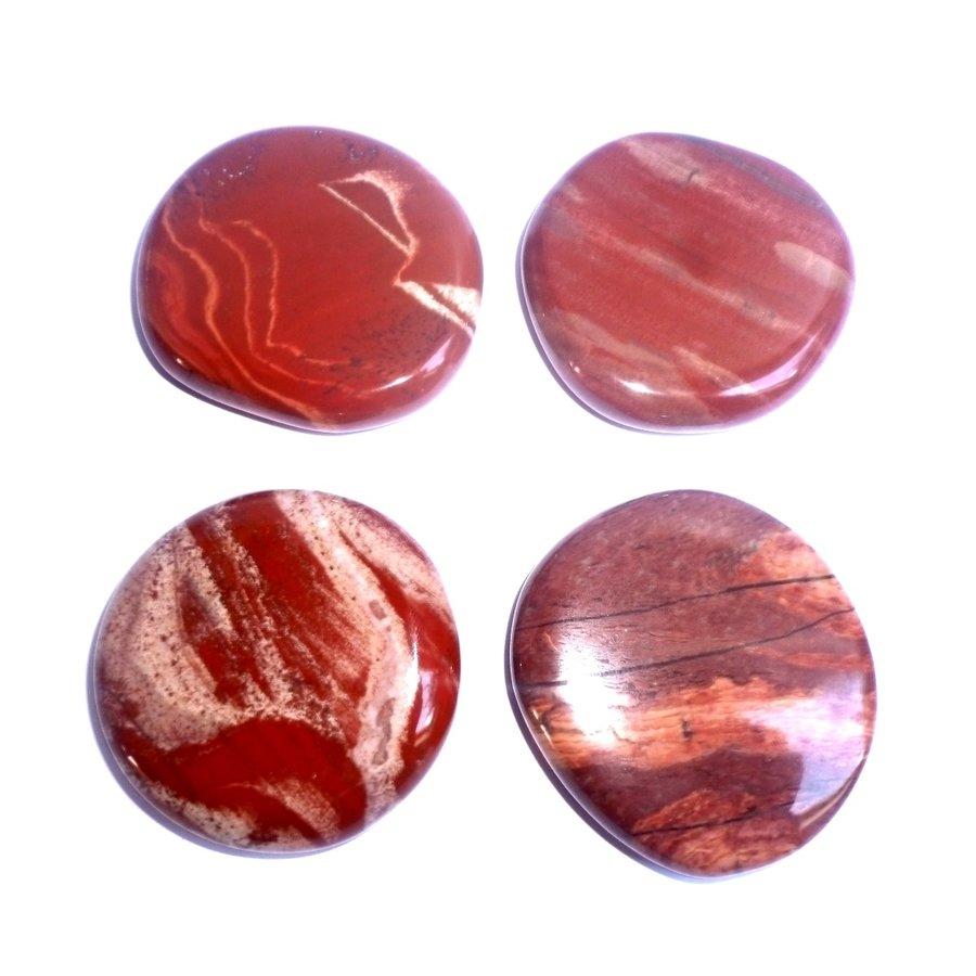 Edelstein Jaspis rot-7