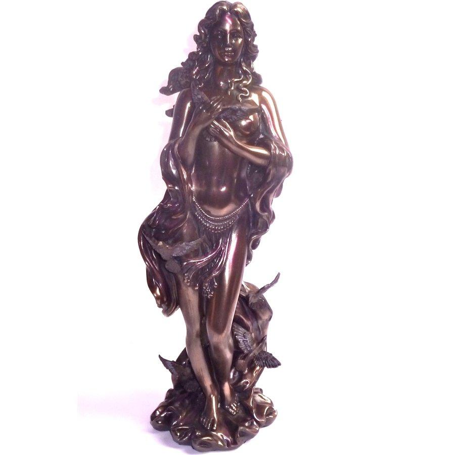 Oshun  aus Polyresin, bronziert-1