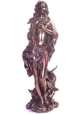 Oshun  aus Polyresin, bronziert
