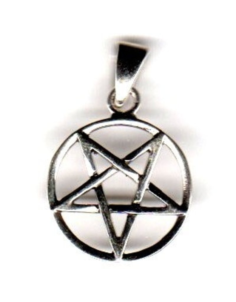 Pentagramm Anhänger Umgekehrt