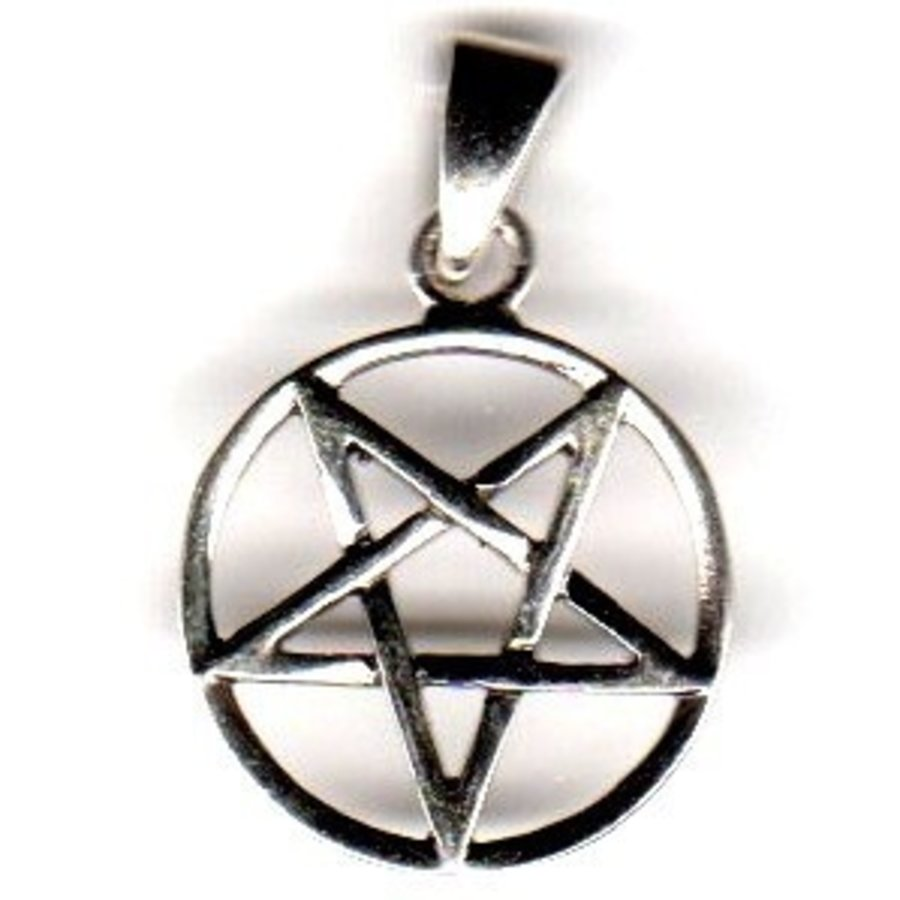 Pentagramm Anhänger Umgekehrt-2