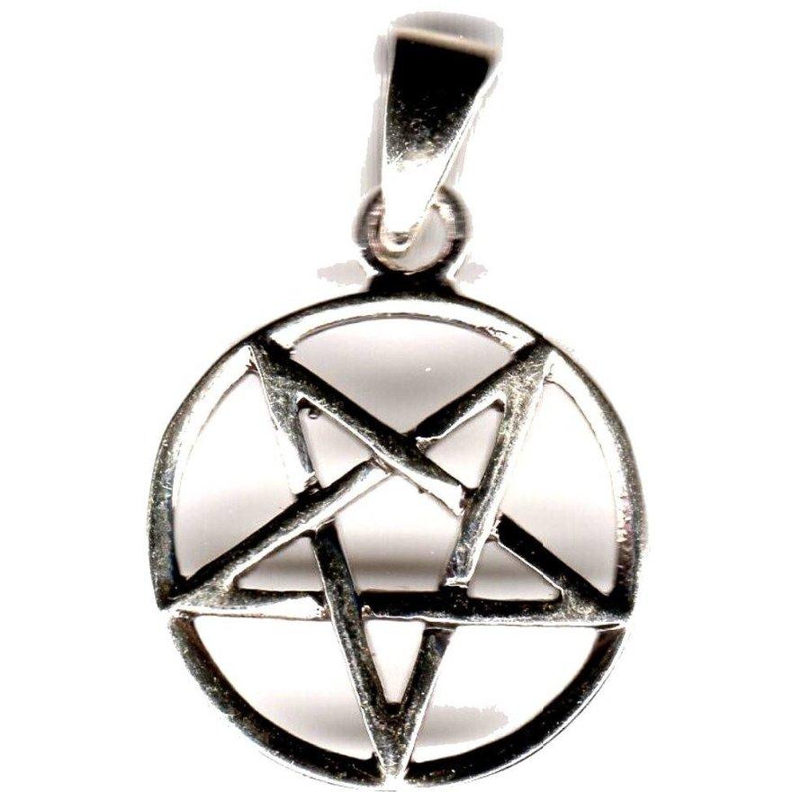 Pentagramm Anhänger Umgekehrt-3