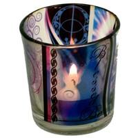 thumb-Teelichtgläser auch für Votivkerzen mit Wicca Elfe-2