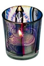 Teelichtgläser auch für Votivkerzen mit Wicca Elfe