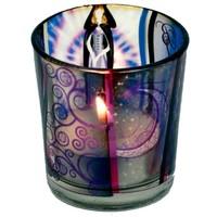 thumb-Teelichtgläser auch für Votivkerzen mit Wicca Elfe-3