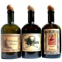 thumb-Alchemisten Flasche,  Witch's Bottle-1