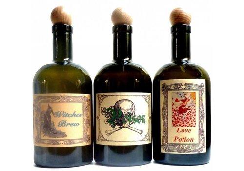 Alchemie Flasche, Hexenflasche