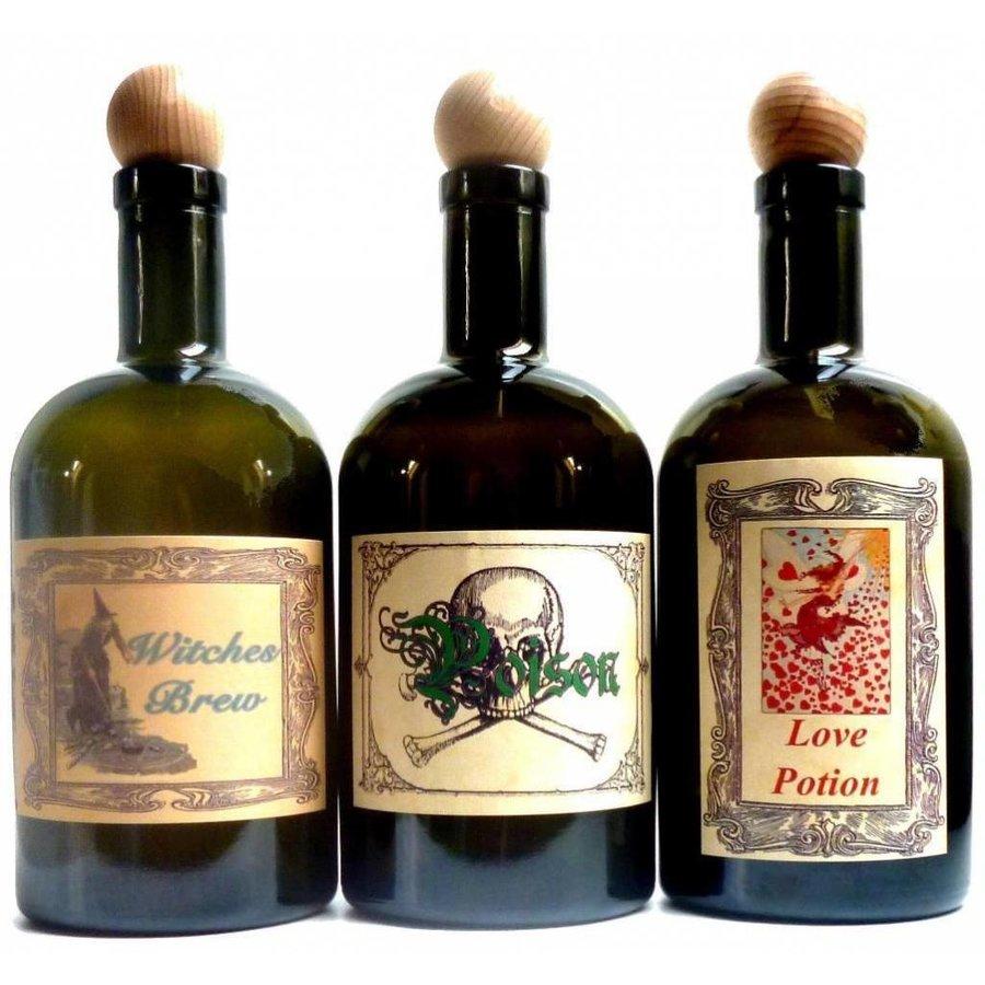 Alchemisten Flasche,  Witch's Bottle-1
