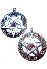 Pentagramm Amulett Anhänger, Groß
