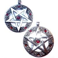 thumb-Pentagramm Amulett Anhänger, Groß-2