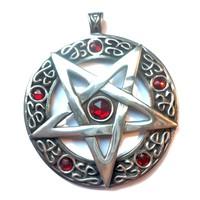 thumb-Pentagramm Amulett Anhänger, Groß-3