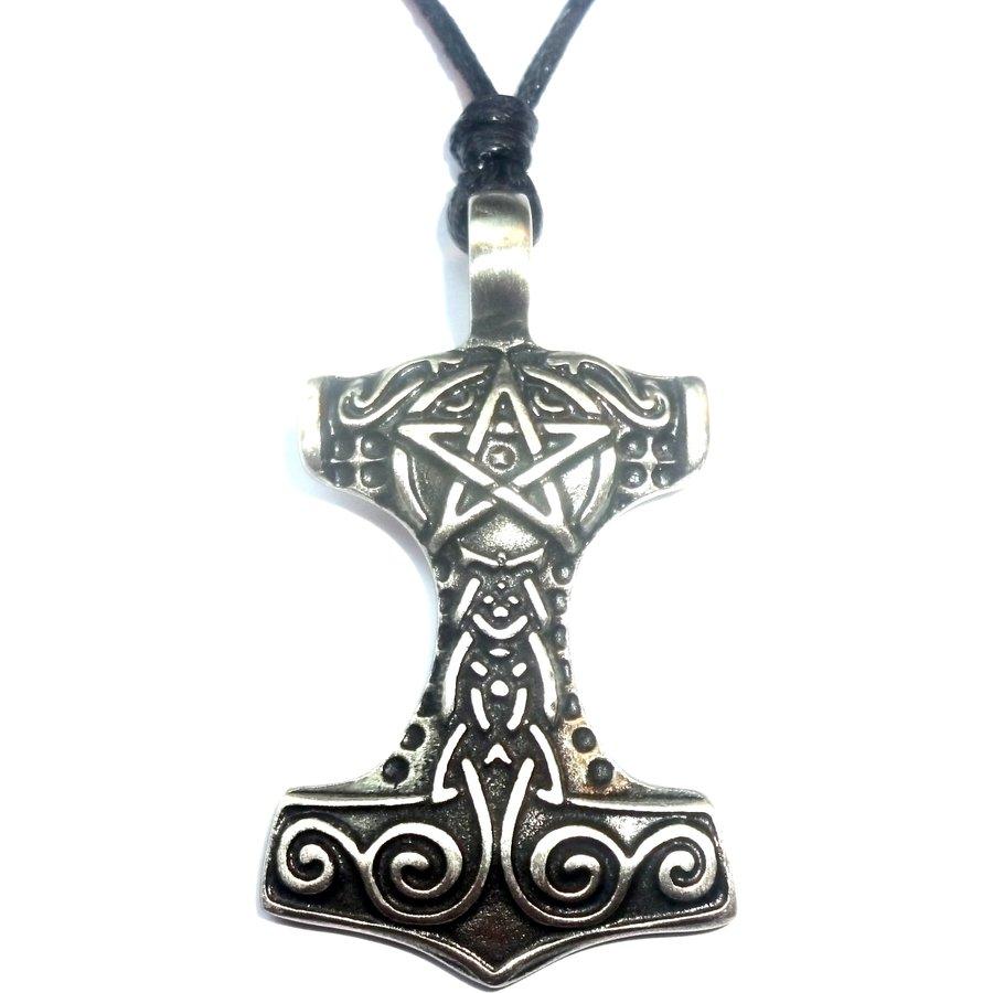 Thors Hammer mit Pentagramm-1